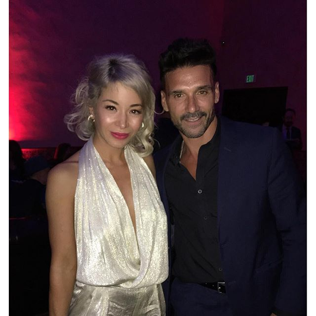 @frankgrillo1 lovely meeting you and your beautiful wife. It was fun seeing you on #captainamericacivilwar and very much looking forward to @thepurgemovie!