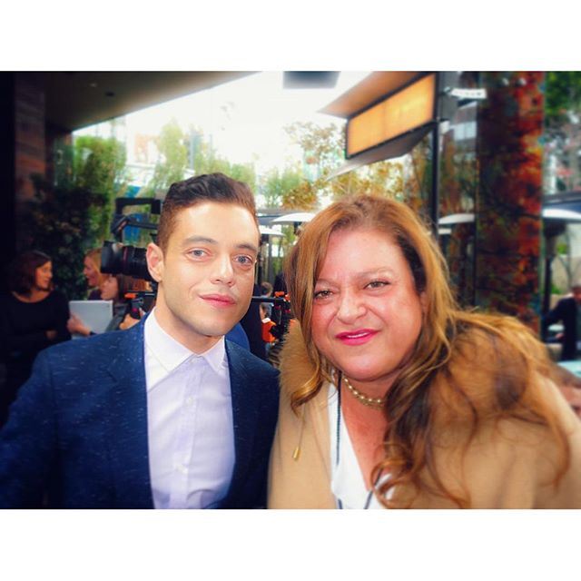@maralzoom I love this pic of @its.ramimalek @whoismrrobot and you. Thanks for coming out and keeping me company. I loved having you girls with me! #actress #producer #dominicaninLA #SpiritAwarsd2016