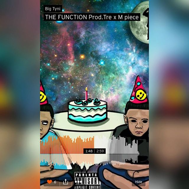 Check out my boy @big_tynisf on #soundcloud. His music is lit!!! #dominican #talent #hot #music #hiphop #thatswhatsup