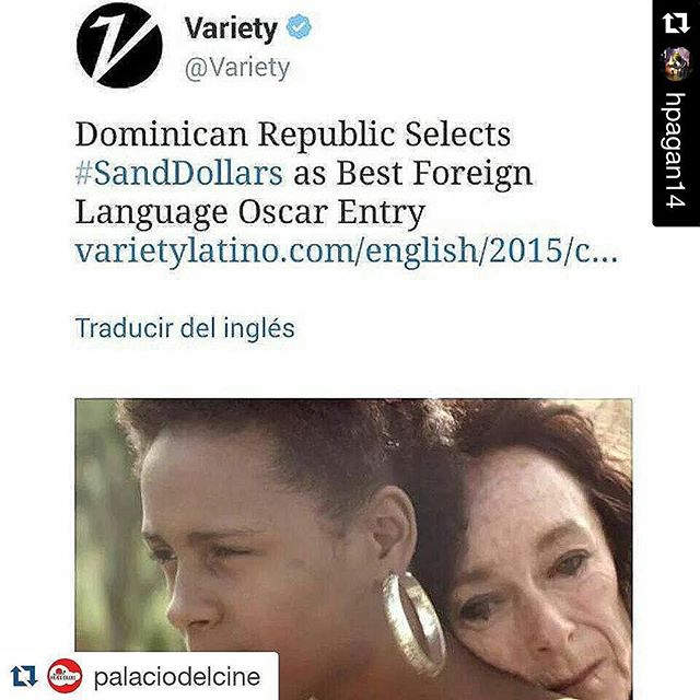 Congrats and good luck to all my friends involved w this film! #roadtotheoscars2016 #Repost @hpagan14 with @repostapp. ??? #Repost @palaciodelcine with @repostapp ??? #NoticiasSeptimoArte La película dominicana