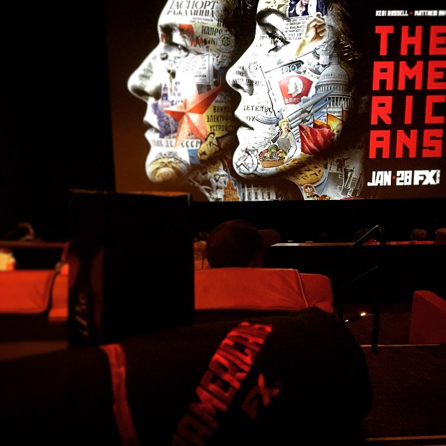 First Class #TheAmericans @WIF_LosAnegeles @TheAmericansFX @lizrodriguezemr