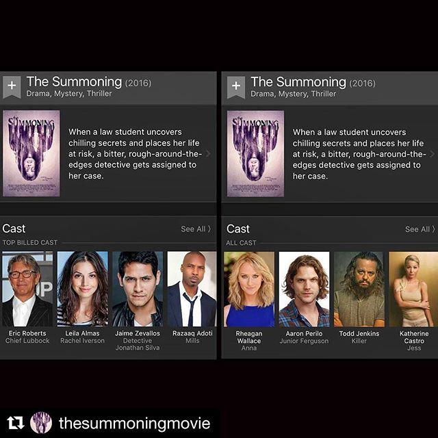 Happy to have been part of @thesummoningmovie with an incredible group of talented actors and friends! #actress #dominican #caribbean #thesummoningmovie #Repost @thesummoningmovie ??? Shout out to our entire cast and crew. For full list, view our IMDb page (link in bio) ............................................................ #film #movie #houston #texas #losangeles #california #ericroberts #photooftheday #halloween #friday #fbf #actress #setlife #actor #makeup #weekend
