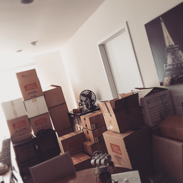 Here we go again... #newhome #moving #packing