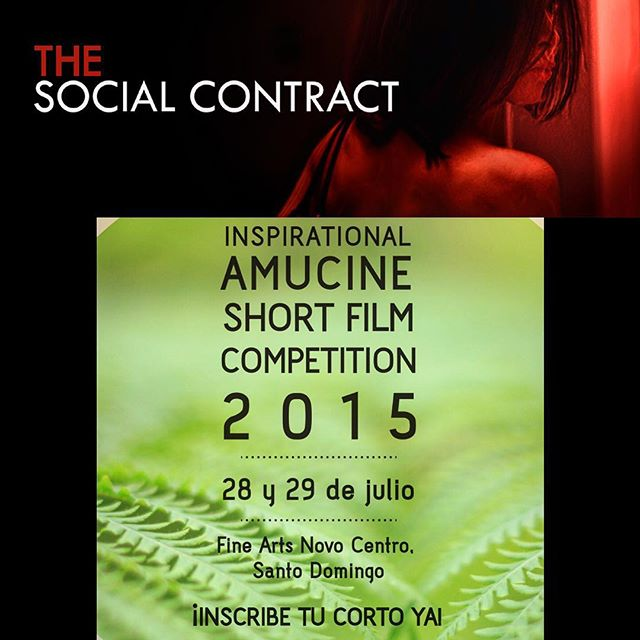 I'm thrilled to announce that my short #TheSocialContract will be part of this year's @amucine_ong #InspirationalShortFilmCompetition as part as a special presentation, at our home @caribbeancinemasrd #FineArtsNovoCentro. Thank you for this honor. Take note of the dates so that you dork miss out. See you all there! #actress #Producer #TheSocialContractMovie #TheMaven @lizrodriguezemr @deigalan @zumayacordero @arpragency