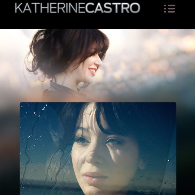 It's here! My new updated website www.katherinecastro.com check it out!