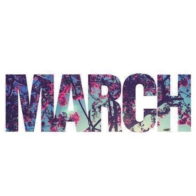 Let the birthday month begin! #HelloMarch
