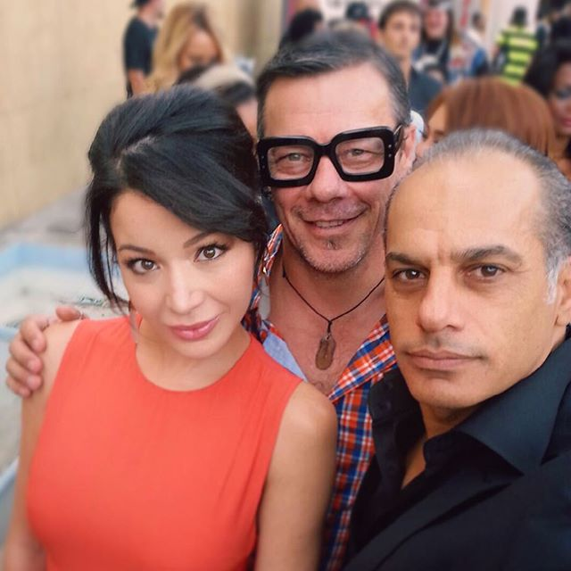 Look who I ran into at #LordOfTheFreaks #premiere! #TheDarkNightRises @massifurlan and #GreenZone @saidfaraj! Always great seeing you #stylish #sharpdressed guys. Massi I love your glasses! #actorslife #colleagues #friends @lizrodriguezemr @filmontv
