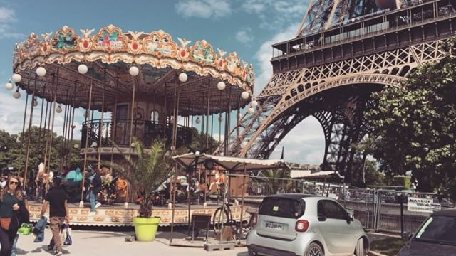 Merry go round because everything will always circles back to you.... #carousel #Paris #beautiful #beautifulday #toureiffel #fun #love #symboloflife #instagood