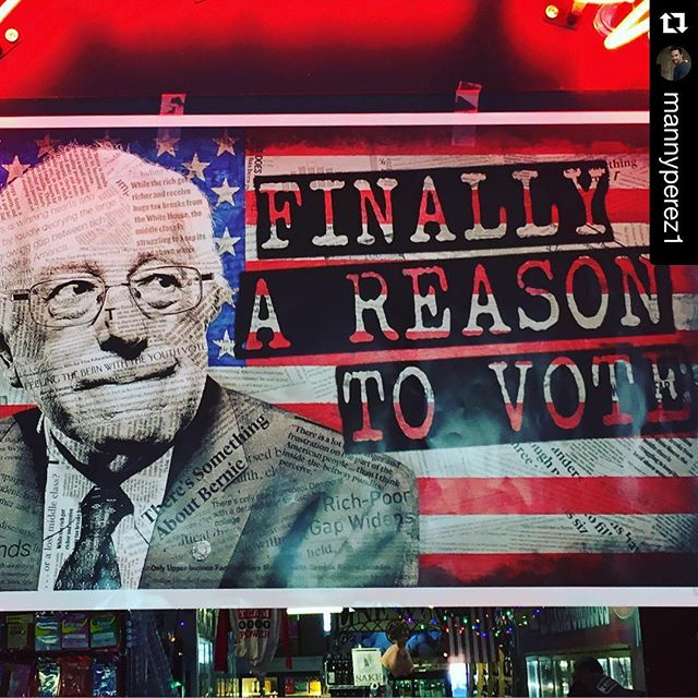 #NYC tomorrow is the day to vote 4 your candidate. Go out and vote. Let your voice be heard! / NYC mañana es el día para votar y elegir tu candidato. Voten! #berniesanders #beastmode #power2thepeople #roar #feelthebern @mannyperez1 with @repostapp. ??? Finally a reason to Vote!!!! #feelthebern NYC tomorrow is our day to vote!! Manana a votar se ah dicho por Bernie Sanders!!!