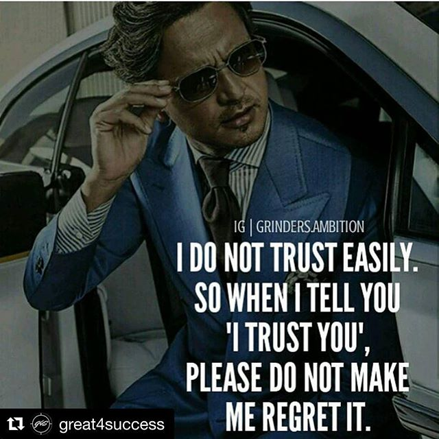 'Nuff said #caribbean #caribbeangirl #dontmesswithme #realtalk #Repost @great4success #Repost @great4success ??? Tag your friends  Once trust us broken, its irreparable. Don't break anyone's trust, and if you trust someone maintain that because most people who you trust would end up breaking it in some way or the other. Being a shady liar to someone who trusts you is just going to end bad so keep it real and keep true  #great4success ???