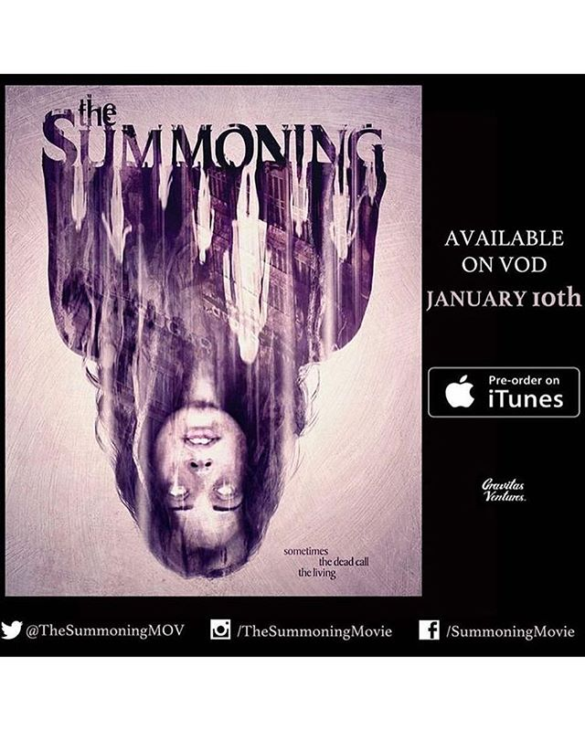 Pre order @thesummoningmovie on @itunes, and support #indiefilm! So proud to be a part of this project with a group of very talented folks. Can't wait for the release on Jan 10! #actress #icaribbean #latine #indie #film #thesummoningmovie #preorder #itunes #actorslife #ilovemyjob @albertogrodriguez @jaimezevallos @theleilaalmas @philadkins91 @closknows