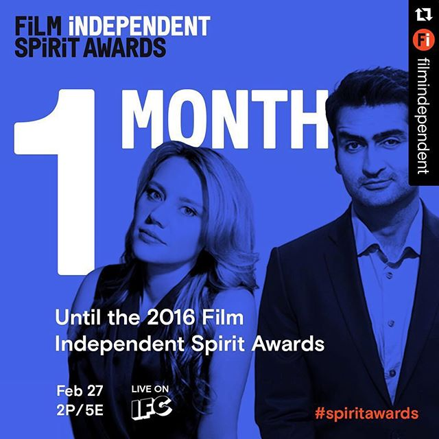 So looking forward to this! #katemckinnon #SpiritAwarsd2016 @filmindependent #Repost @filmindependent with @repostapp. ??? Whoa. #SpiritAwards