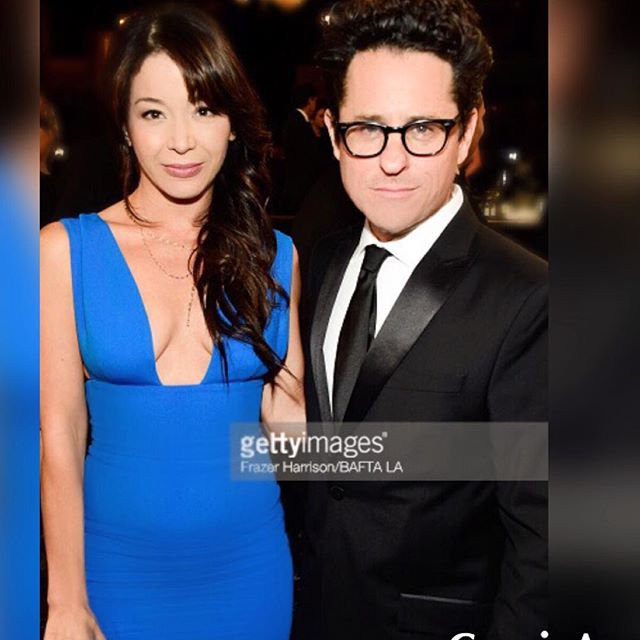 So lovely chatting with #JJAbrams about movies, stories, real life experiences and more, last night at @baftalosangeles #brittaniaawards2015 #Super8 @bafta @lizrodriguezemr