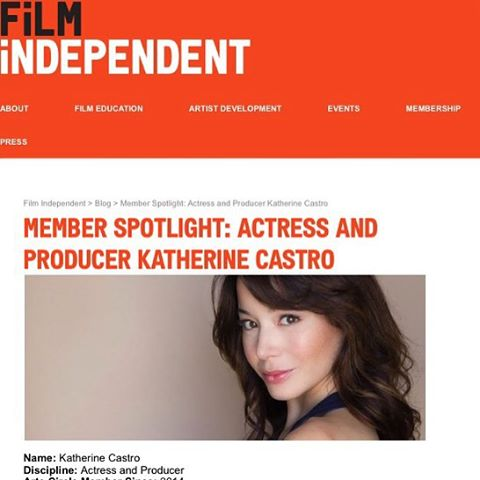 Such a delight speaking with #TomSveen from @filmindependent for their monthly blog. Thank you for featuring me and and for your support to independent filmmakers, dreamers and believers of the impossible!