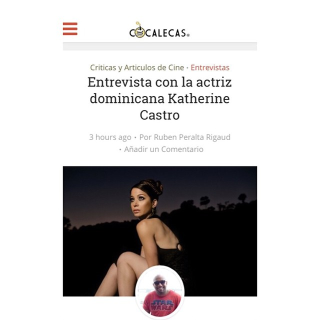Thank you @cocalecas for the fun and introspective interview! #actress #producer #DR #LA #livingmydreams #movies #cocalecas @deigalan @lizrodriguezemr @5elsadealms