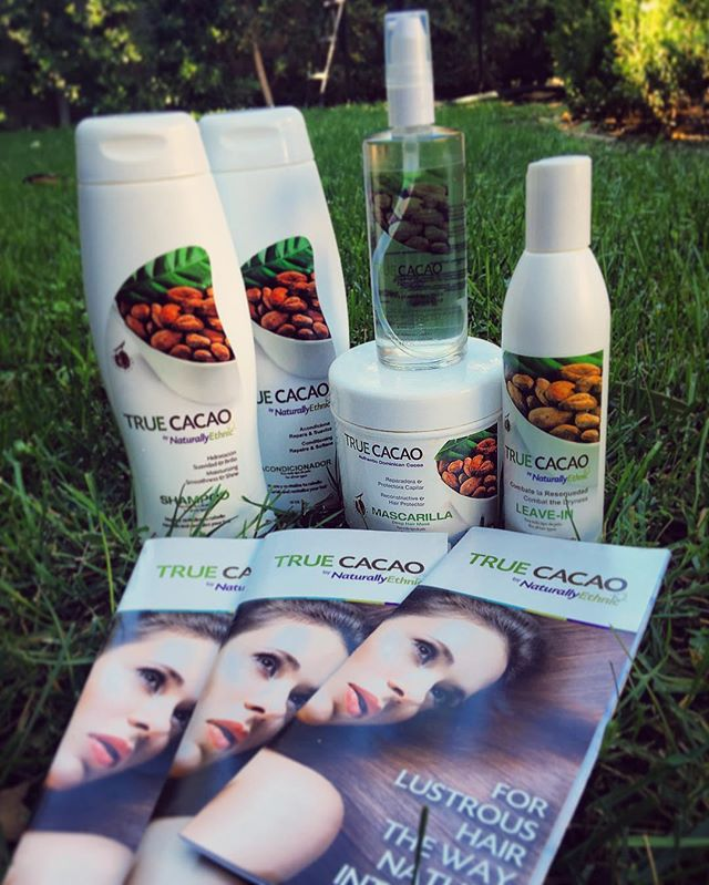 Thank you @truecacaobybleuverd for sending me your amazing products made from organic fair trade #Dominican Cacao, known for being one of the best in the world! I've tried them and, not only do they thar luscious cacao scent but it left my hair feeling silky soft. This really is an exquisite treat for my hair. Love these products! #organic #nongmo #chemicalfree #fairtrade #DR?? #cacao #yummy #hairproduct #healthyhair #truecacao #love