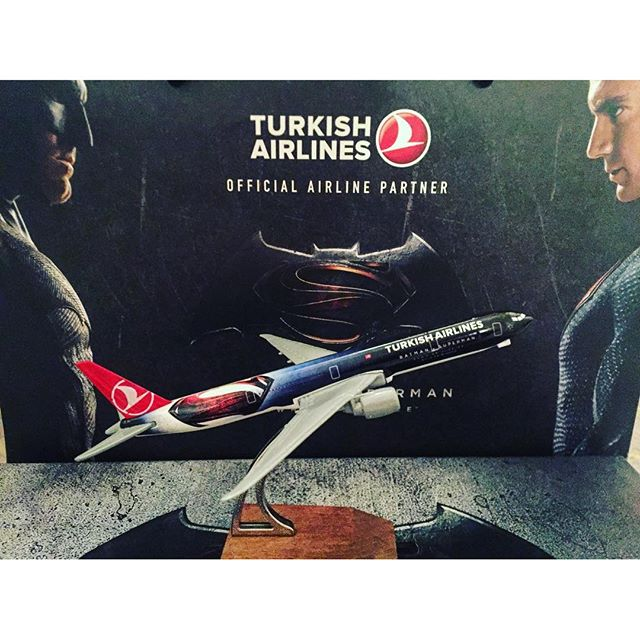 Thank you @turkishairlines for the #turkishdelight and the cute souvenir from the #batmanvsuperman #bvspremiere in #NYC. After having a small taste of the delight, I think I'll just need to visit Turkey soon!