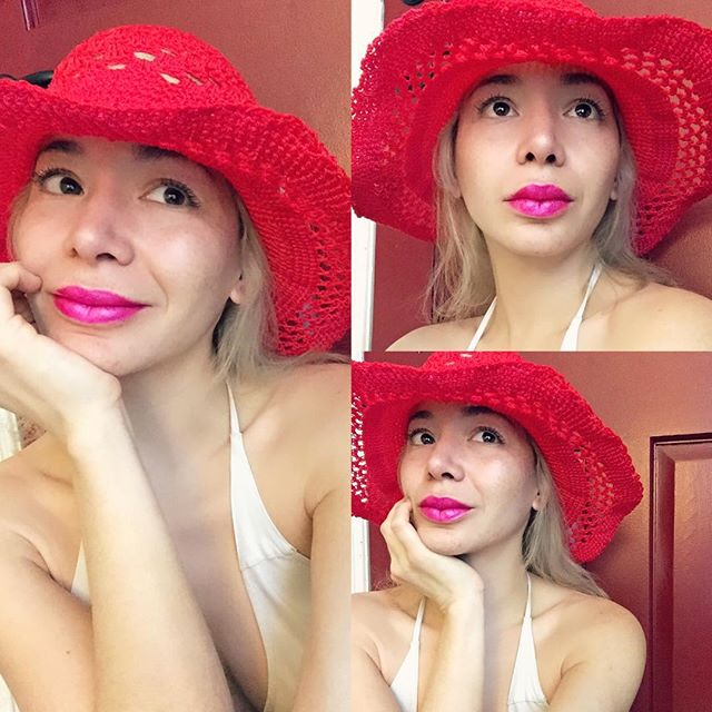 Thank you #ElenaBurnett! I'm absolutely loving my custom made summer hat in #fuscia just in time for my trip to #Cannes! #actress #dominican #fashion #summer #sunmerhat #custommade #fashion #festivaldecannes #style #stylish #chic #usa #paris #madrid #london #dr #rio @thefairytaleformula