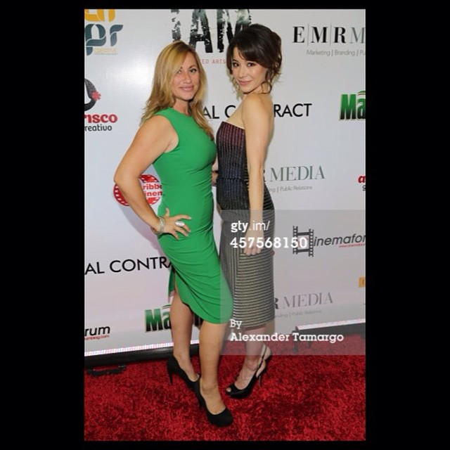 Thank you to my #stellar Producing partner @lizrodriguezemr for putting so much work, passion; and dedication to our project. For believing in me and championing me! #TheSocialContractMovie #producers #powerteam #powerwomen @gettyimages