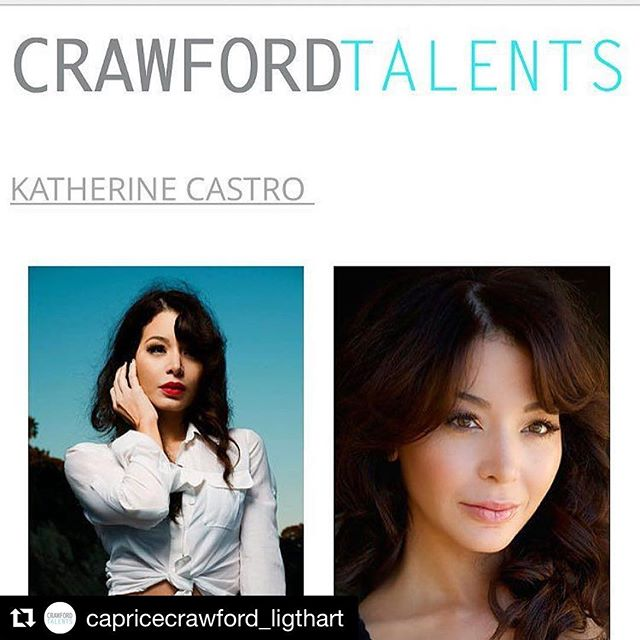 Thrilled to call #crawfordtalents my home in Europe and be part of an amazing group of talented actors! Thank you for the warm welcome @capricecrawford_ligthart !? #Repost @capricecrawford_ligthart ??? #KatherineCastro Dominican Talent via LA just joint our pool of Crème de la Crème Actors We are so happy to have this beautiful talented actress/producer working with us at #crawfordtalents #actors-life like us on FB @crawfordtalents @officialkatherinecastro