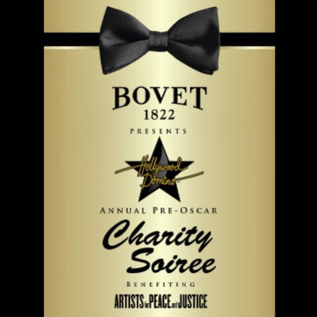 'Tis the season! Looking forwArd to #Bovet1822 #HollywoodDomino annual #preOscar Charity Soirée benefiting @artistsforpeace with @paulhaggis @bovet1822 @duanethomas and friends! #artistswithhearts #celebratingforacause @lizrodriguezemr