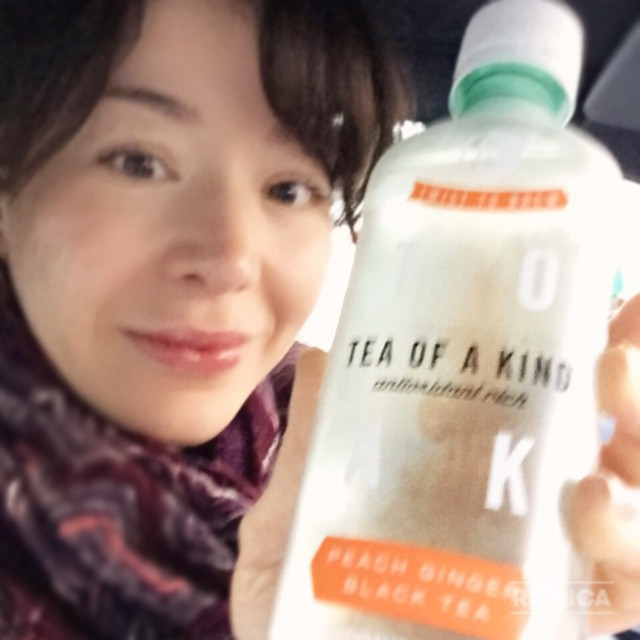 Went grocery shopping today and saw that they had my favorite tea, and I couldn't resist to #TOAK #TeaOfaKind #PeachGinger #favoriteflavor @teaofakind