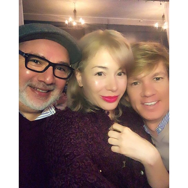 What would I do without these two? They shakes up at my place and snatched me away to celebrate #mybirthday at #yummy #Francos! #twoblondesandasilverfox #birthdaygirl #hollywood #LA #nightout #happybirthdaytome #lovetheseguys #lvenyfriends #pictureperfect @anivalm @martinputter @francoonmelrose