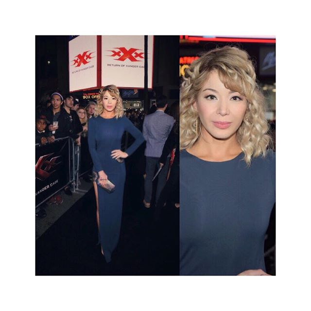 #aboutlastnight More from the LA premiere of @vindiesel @paramountpics @xxxmovie premiere at @chinesetheatres ? Charlie Gallay / Getty Images #dress @haneyofficial #style @alejandroperazastyle #hair @nancileesantos #mua @theresa_baca #haircolor @anivalm @gettyimages