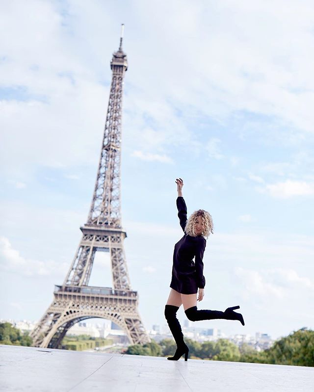 #currentmood Jumping of excitement and so grateful to all my followers, my friends for jumping on this ride with me. We have reached a new milestone! 102k! Thanks for the love and for allowing me to share my journey with you! #actress #dominican #caribbean #LA #grateful #happygirl #paris #lavieenrose #love #lovemyfollowers #thankyou  ? @photographylovesadventure #hair @nancileesantos @anivalm #mua @katreyrey #style @alejandroperazastyle