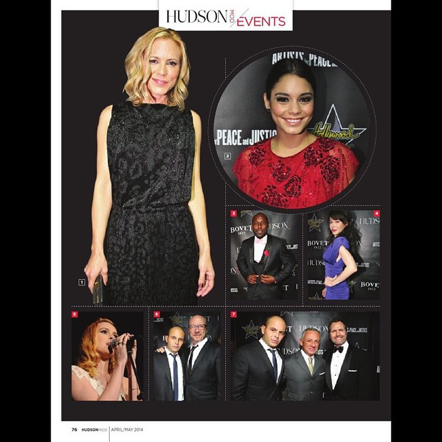 #flashbackFriday a nice feature on @hudsonmod from last year's #HollywoodDomino #Bovet #APJ Pre Oscar Party! @lizrodriguezemr @deigalan @romeroangie @modelvioletap
