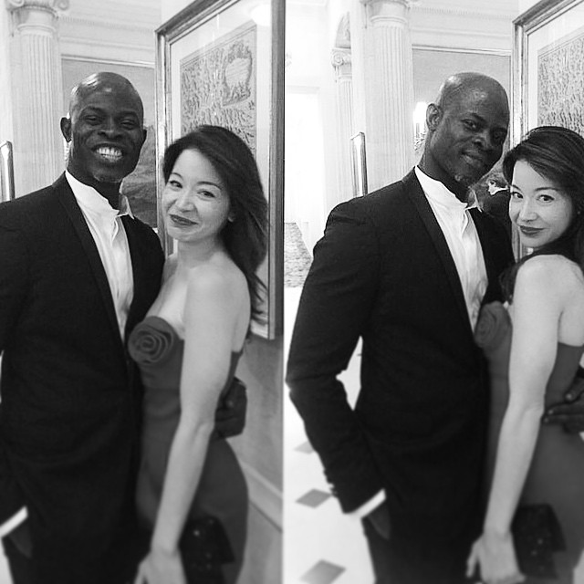 #tbt it took 2takes. Hard to keep a straight face w @djimonhounsou at @hotel_du_cap_eden_roc after the premiere of #HowToTrainYiurDragon2 in #Cannes2014