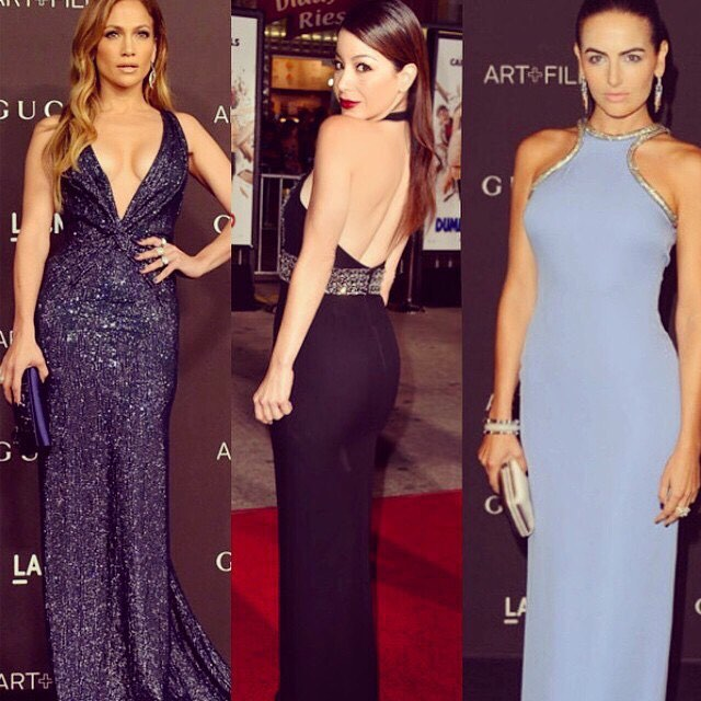#tbt that day when the diva @jlo, the beautiful @camillabelle and I dressed in @gucci #actress #actresses #redcarpet #fashion #style #dress #gucci #ingoodcompany