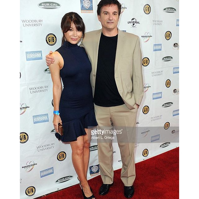 #tbt with @niceguysmovieuk director Shane Black at the @burbankfilmfestival closing gala. Looking forward to seeing #TheNiceGuys movie at tonight's premiere! #actress #Dominican #angeleno #redcarpet #LA #nightout #Gosling #Crowe #Black @ryangosling